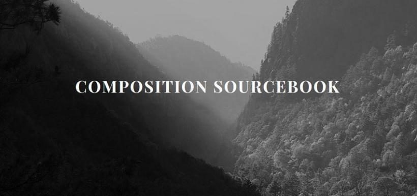 "Learn about ""Composition Sourcebook"" on the ""Resources"" page."